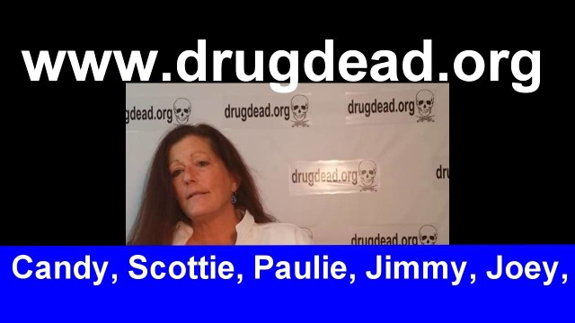 Julie drugdead.org