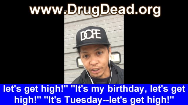 "Rico: ""It's Tuesday– let's get high!"""